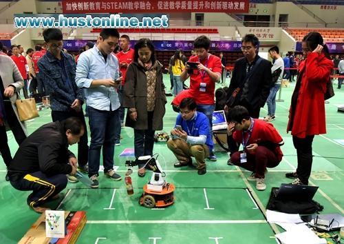 HUST Win Prizes in China Educational Robot Contest